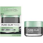 Loreal Skin Expert Pure-Clay Mask, Detox & Brighten - 1.7 oz