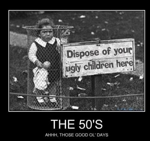 Dispose of ugly children