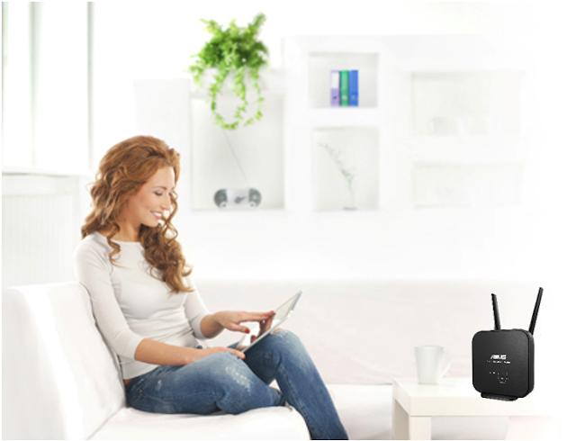 【4G Router】ASUS 4G-N12 LTE 路由器 唐樓、村屋上網方案 $899