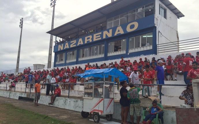 América-RN x River-PI Estádio Nazarenão Goianinha (Foto: Augusto Gomes/GloboEsporte.com)