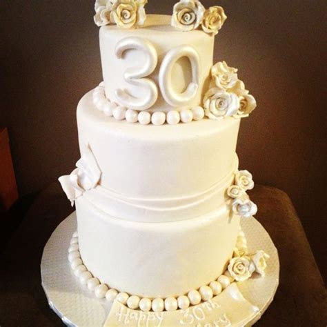 30th wedding Anniversary cake!!!   Wedding Ideas