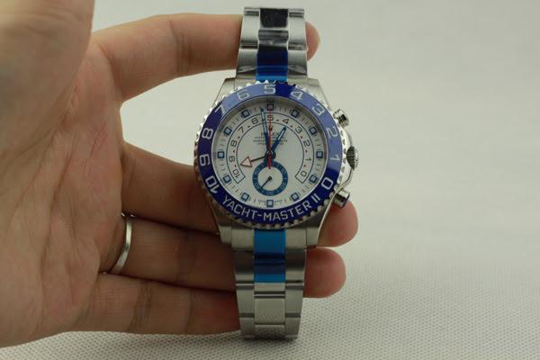 Rolex YachtMaster 2 Steel Watch Replica 2
