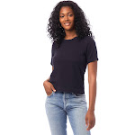 Alternative Heavyweight Recycled Cotton Cropped Pocket T-Shirt