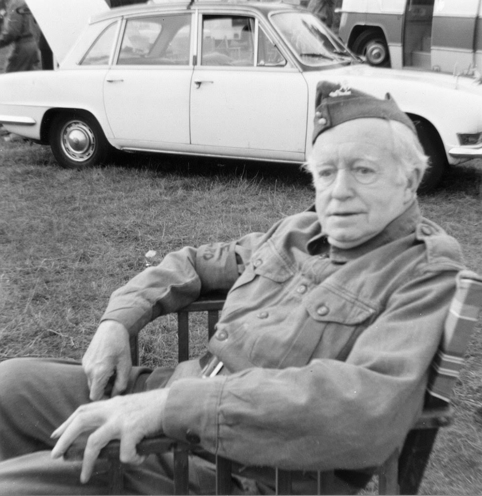 Arnold Ridley, who played Private Charles Godfrey, is pictured on set. Michael Gambon will take on his part in a new film adaptation
