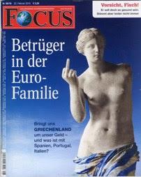 Γερμανοί διανοούμενοι και ελληνολάτρες κατά του Focus
