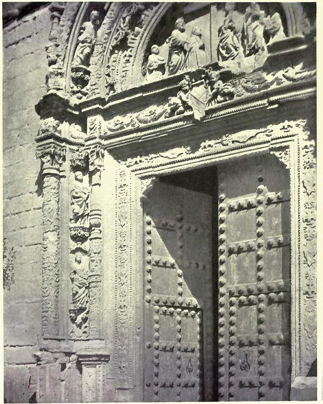 Portada del Hospital de Santa Cruz. Fotografía de Austin Whittlesey a comienzos del siglo XX. © University of Toronto
