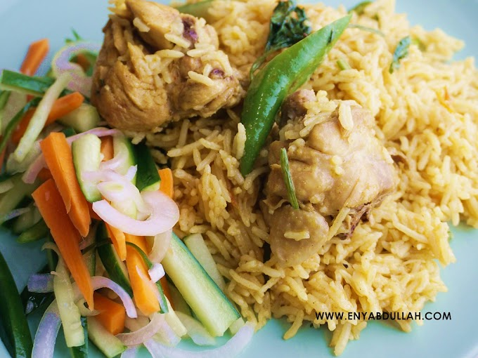 Resepi Beriani Ayam Cara Mudah