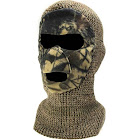 QuietWear Knit and Fleece Patented Mask Adventure Brown