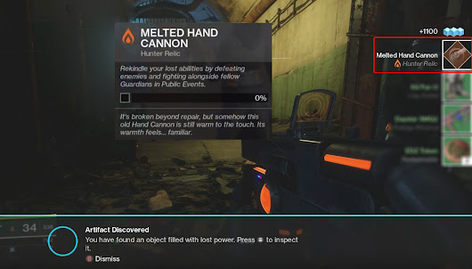Destiny 2 Melted Hand Cannon