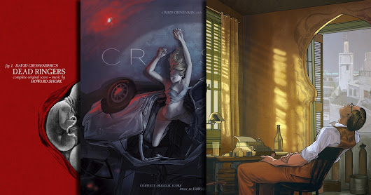 Mondo Unveils Vinyl Artwork for Three Cronenberg Classics