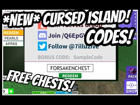Cursed Island Roblox Codes Wiki