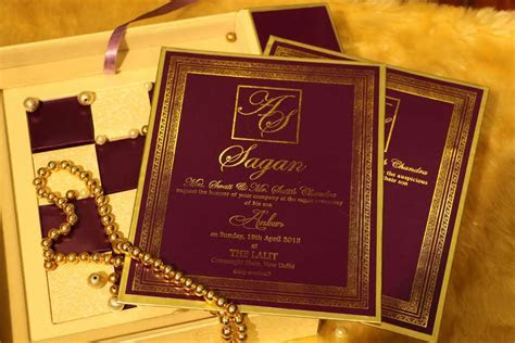 Designer Wedding Invitations   VWI   The Iconic Mark