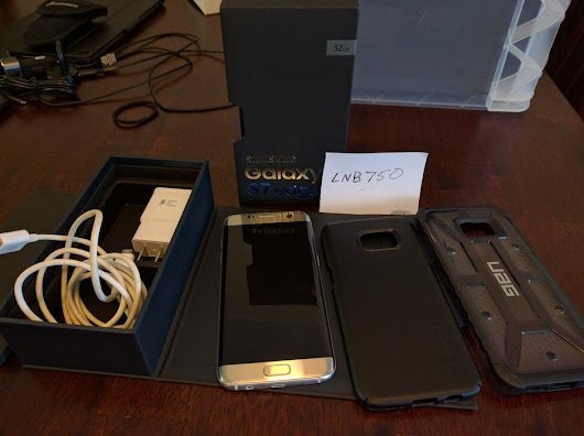 Samsung Galaxy S7 Edge (Verizon) For Sale - $534 on Swappa (LNB750)