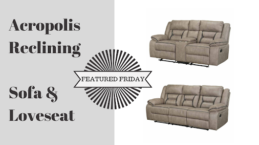 Reach New Style Heights With the Acropolis Sofa and Love | American Freight Blog