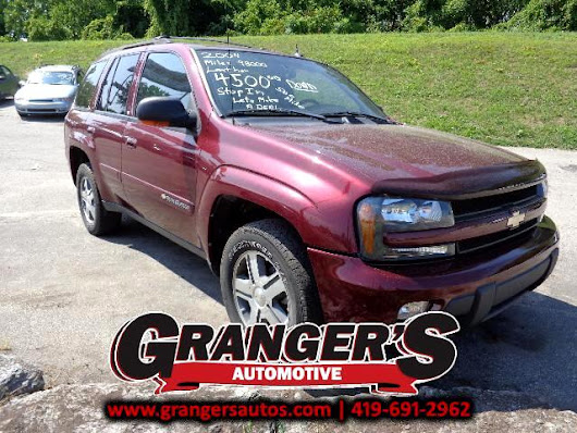 Used 2004 Chevrolet TrailBlazer for Sale in Toledo OH 43605 Granger's Automotive