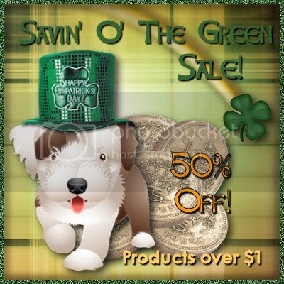 Save 50% During Digicats Savin' O' the Green Sale!