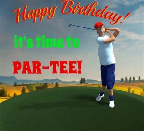 Happy Birthday Golfer  Free Happy Birthday eCards