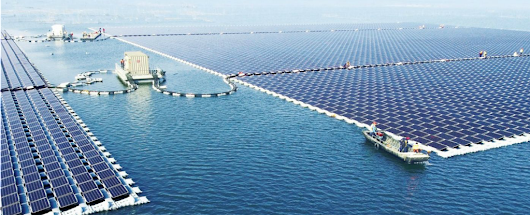 The World's Largest Floating Solar Plant Is Finally Online
