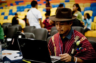 Indigenous Peoples' caucus in Cancun