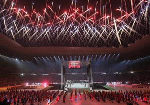 На открытии львовского стадиона о вкладе властей в строительство арены