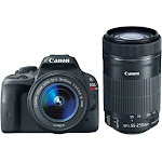 Canon Eos Rebel SL1 with EF-S 18-55mm is STM Kit & Canon EF-S 55-250mm f/4-5.6 is STM