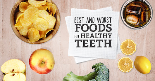 Best and Worst Foods for Healthy Children's Teeth