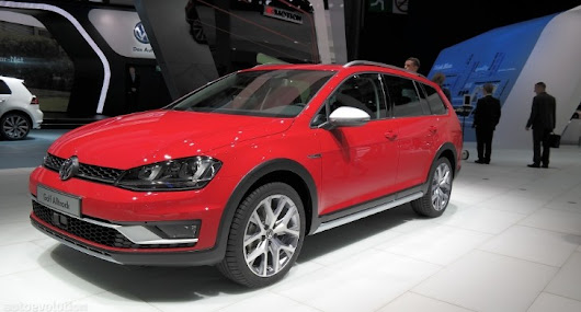 VW Golf SportWagen Alltrack US Debut Confirmed for 2016 - Photo Gallery