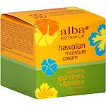 Alba Botanica Moisture Cream, Hawaiian, Smoothing Jasmine & Vitamin E - 3 oz