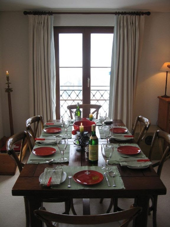 Chateau D'oex Apartment Rental: Luxury Alpine Apartment With Warm ...