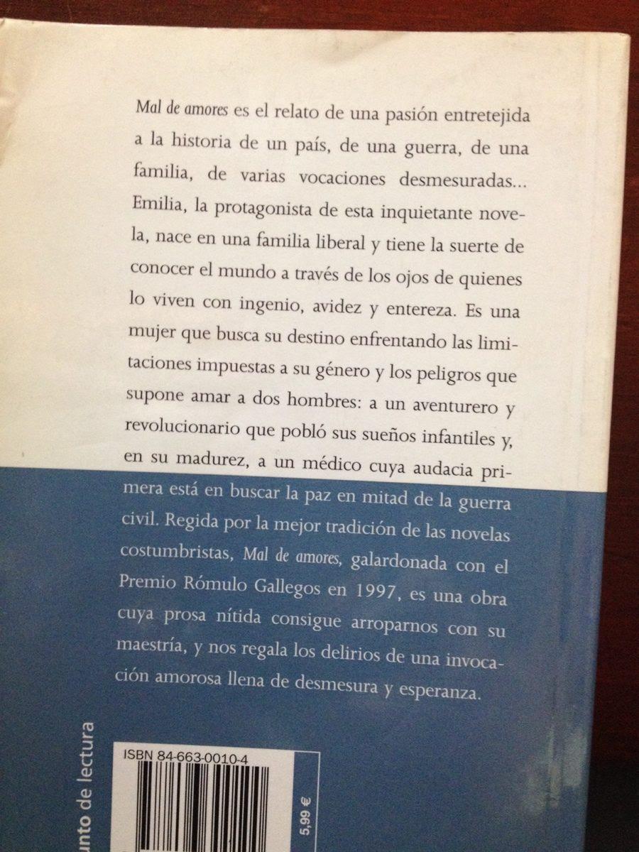 Mal De Amores Novela Unifeed Club
