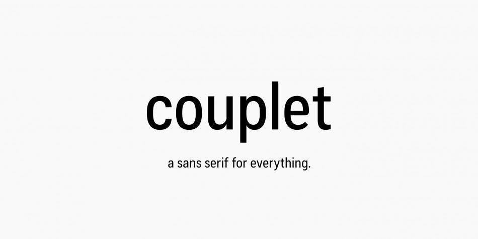 Cool Font: Download Couplet CF Font