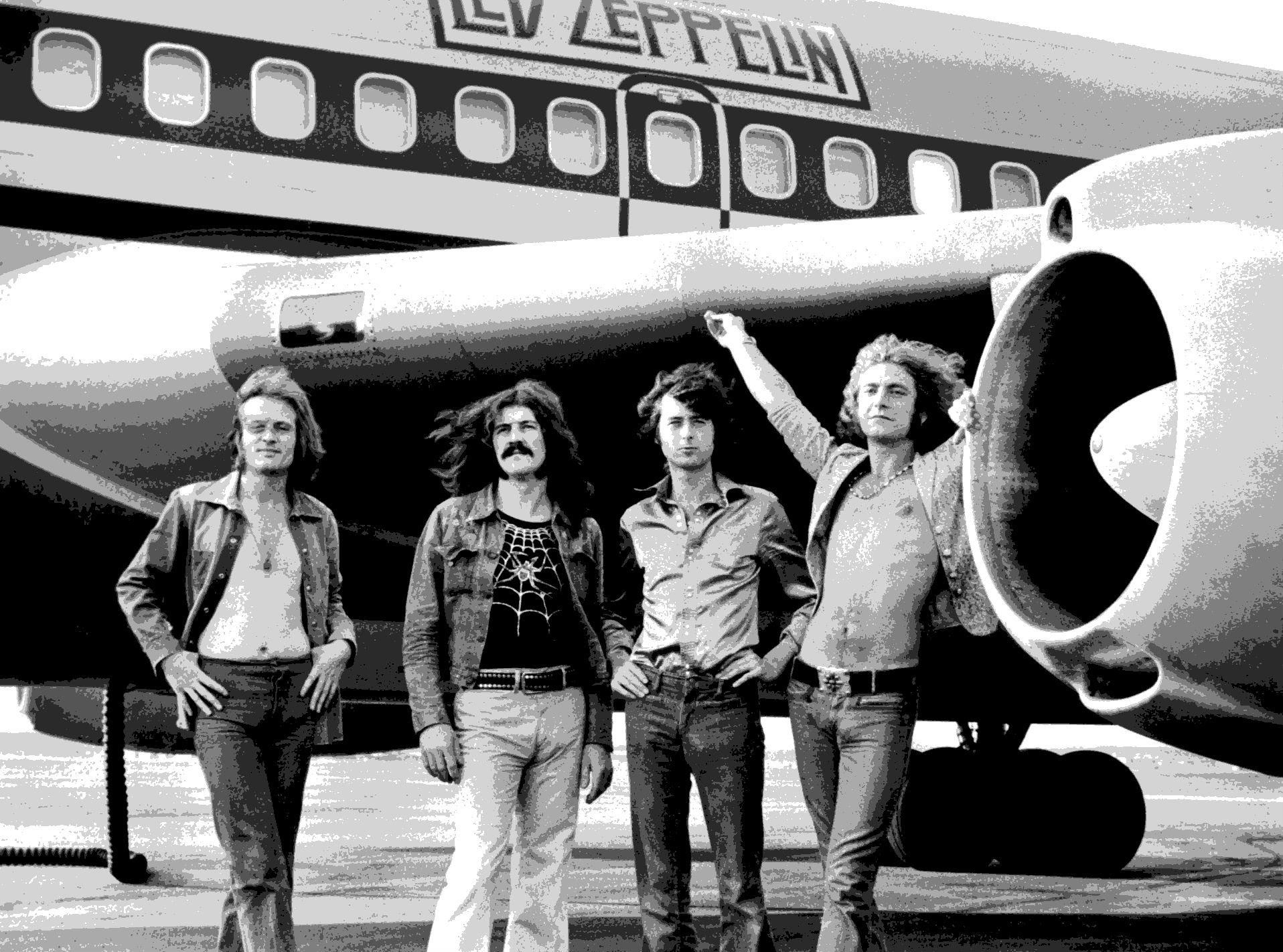 Hd Led Zeppelin Hard Rock Classic Groups Bands Jimmy Page Robert