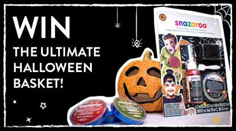 Win the Ultimate Halloween Basket with Snazaroo!