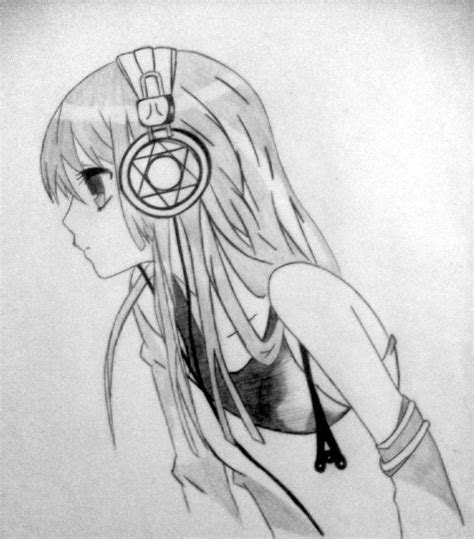 nightcore draw anime pinterest anime