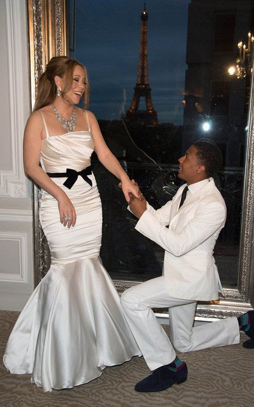 Vows Renewal Ceremony in Paris - April 27, 2012, Nick Cannon, Mariah Carey
