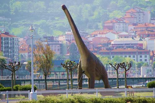 Dinosaurios en Getxo