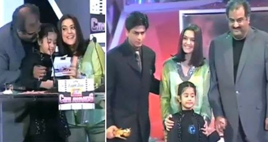 A Throwback Video Of Small Janhvi Kapoor As She Presented 'The Best Actor Award' To Shah Rukh Khan