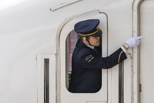 Why Japan's Rail Workers Can't Stop Pointing at Things