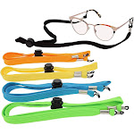 10-pack Eyewear Retainer Strap Neck Lanyard Keeper A , for Eyewear, Eyeglass, Sunglass, Glasses, Accessories, 5 Assorted Colors