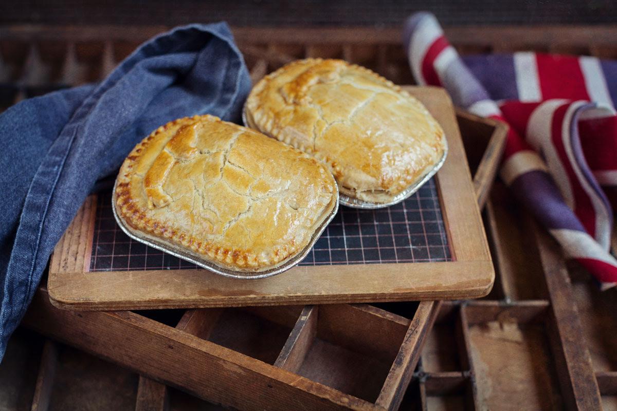 Home-made Steak Pie - Kitridding Farm