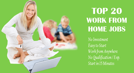 20 Work from Home Jobs: Earn 30,000 Monthly without Investment
