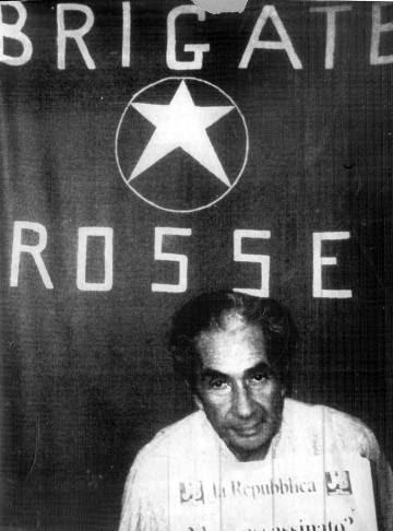 Aldo Moro, durante su secuestro.