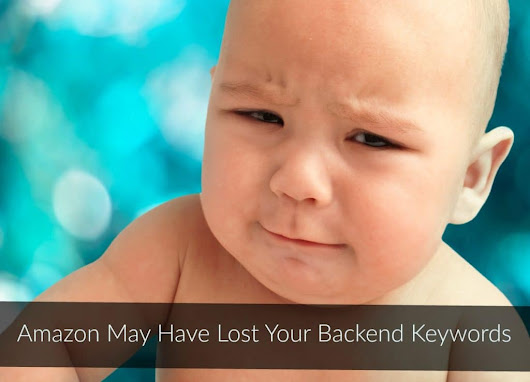 Amazon May Have Lost Your Backend Keywords - Marketing Words Blog