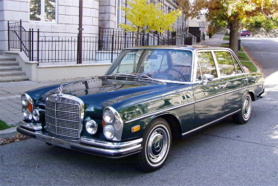 1970 Mercedes 300SEL 3.5 Landeau | German Cars For Sale Blog