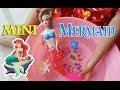 Playing Mini Mermaid Funny and Beautiful ❤ Bermain Mainan Putri Duyung Kecil ❤ Mermaid Tails