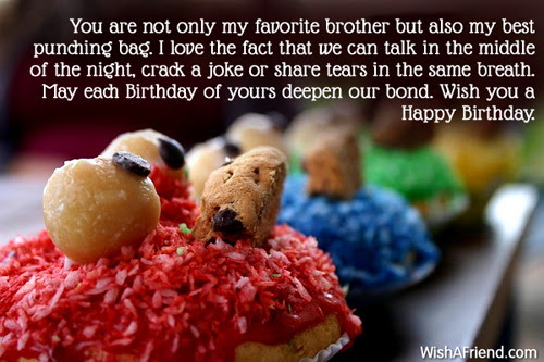 Brother Birthday Messages
