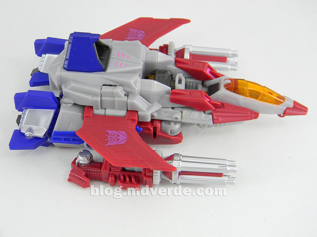 Transformers Starscream Deluxe - Generations Fall of Cybertron - modo alterno