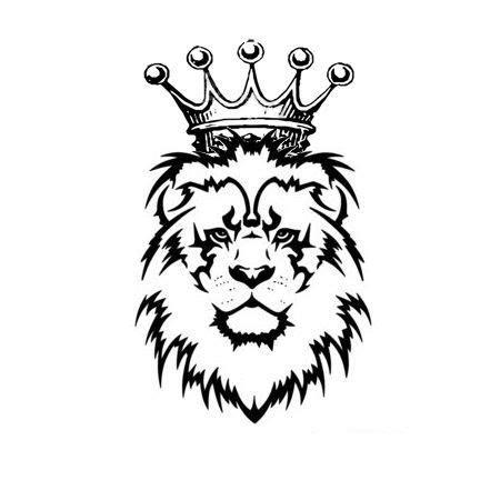 tribal lion  crown tattoo google search tats