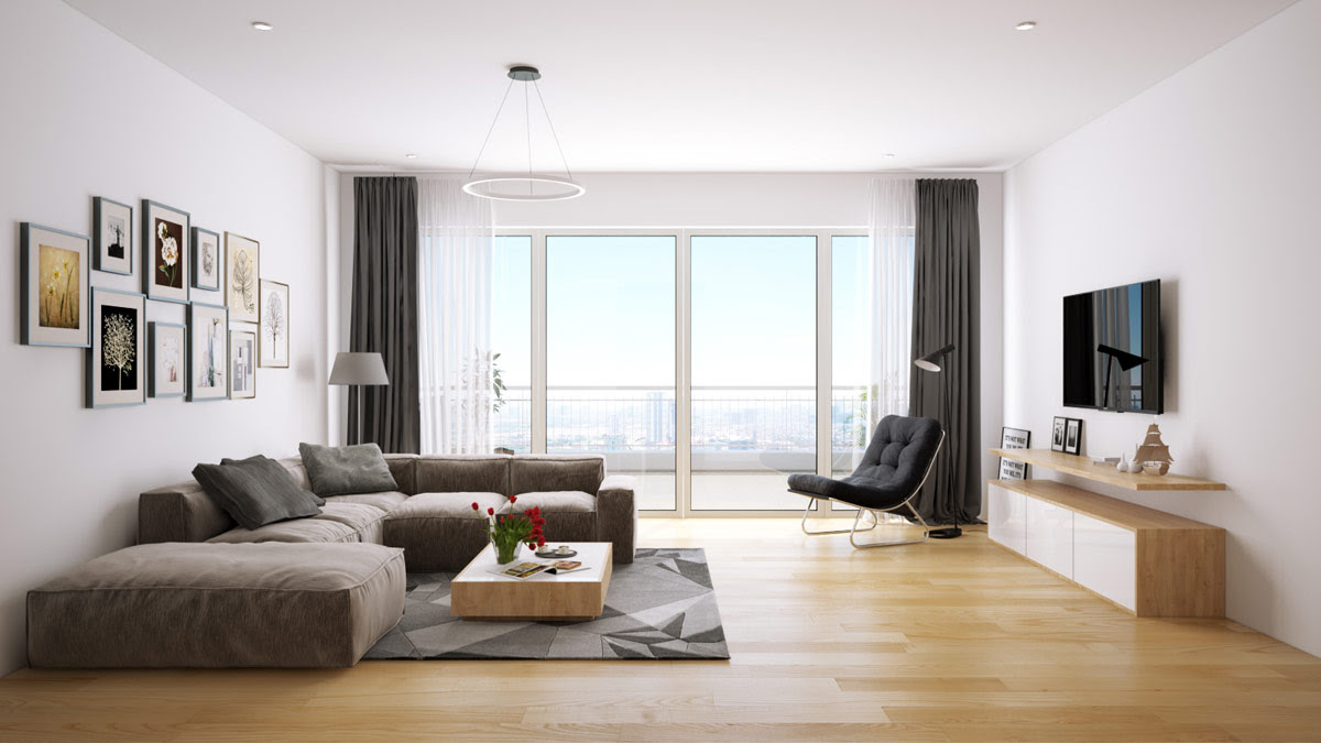 Interior 3d Design High Quality Open Plan Service - Round ...