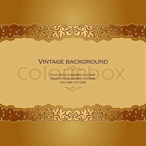 Vintage Hintergrund, Antiquität,     Vektorgrafik